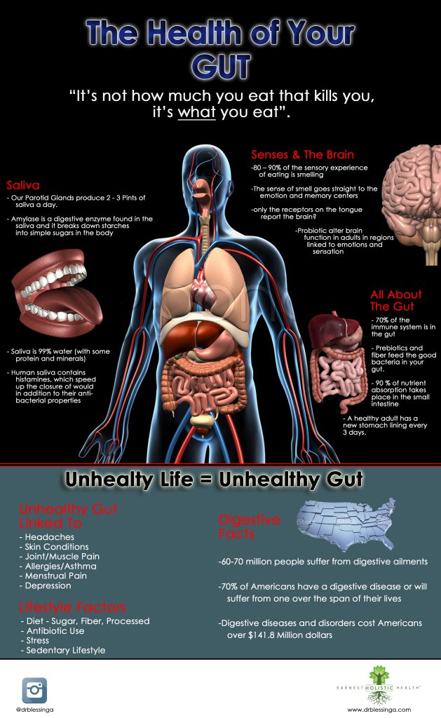 Digestive Infographic: Is your gut unhealthy?