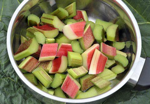 Rhubarb and Apple Salad - 4 Anti-Inflammatory Rhubarb Recipes