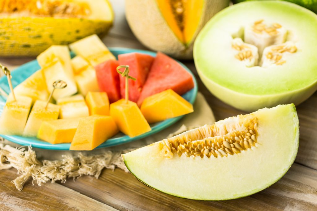 hydrating melons - fruits